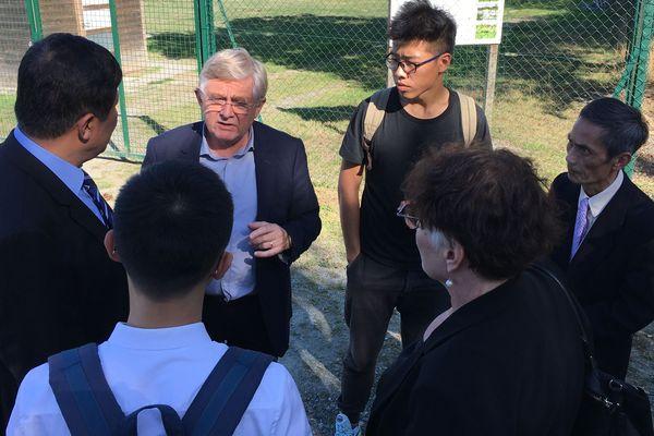 Une délégation chnoise reçue par la municipalité de Bouvron pour une visite de la station d'épuration