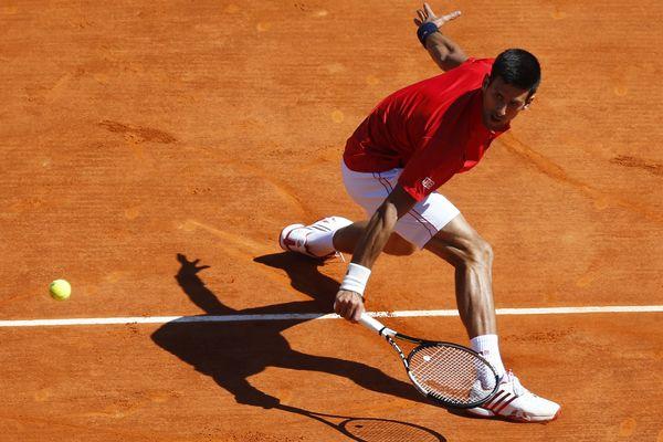 Novak Djokovic, à Monte-Carlo, en avril 2016