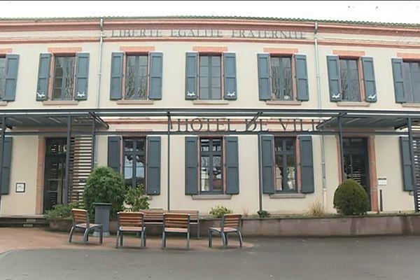 La mairie de Graulhet (Tarn)
