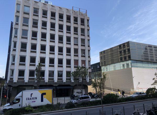 Le siège de la Méridionale, à Marseille