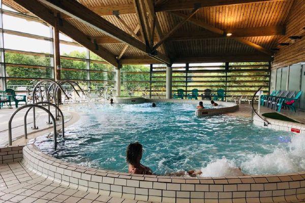 Dans le Cantal, la fréquentation des centres de balnéo est en berne en ce mois de septembre, les bassins sont presque vides.