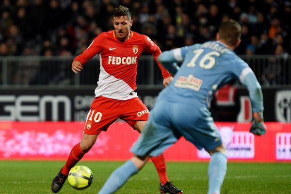 Le monégasque Stevan Jovetic tentera de faire aussi bien qu'à Angers en l'absence de Radamel Falcao.
