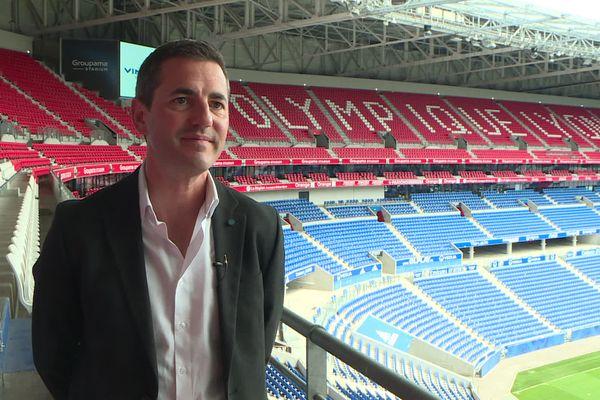 Xavier Pierrot, le stadium manager du Groupama Stadium - 13/7/2021