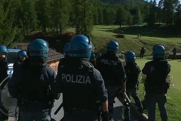 Un important dispositif policier français et italien a été déployé samedi 22 septembre au col de Montgenèvre