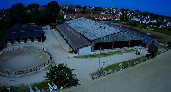 Le centre équestre de Ouistreham est intacte et les chevaux sains et saufs