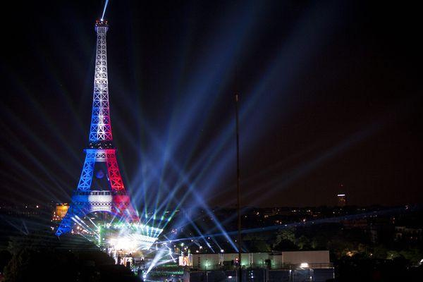 La Tour Eiffel, à Paris, le 9 juin 2016.
