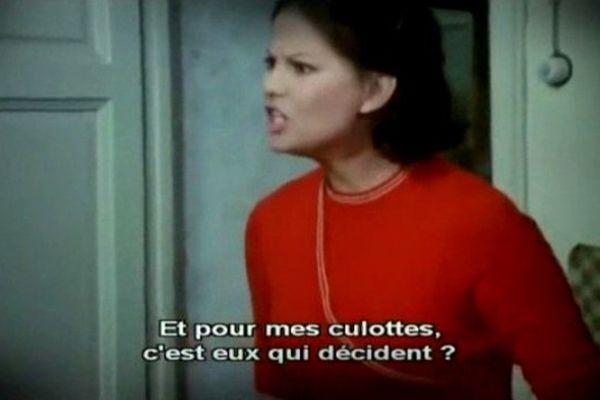 l'actrice Claudia Cardinal dans Liberté mon amour