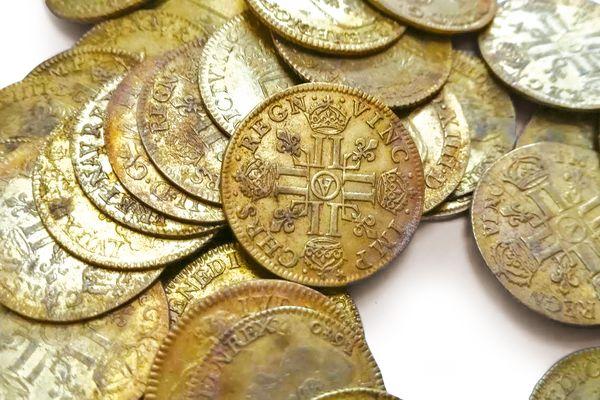 Le fruit de la vente des 239 pièces d'or sera partagé entre les découvreurs et les propriétaires des lieux.