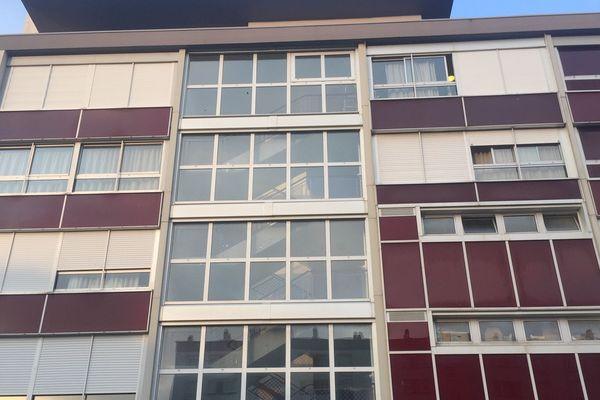 Le foyer de jeunes travailleurs Ker Héol à Brest où vit Moussa.