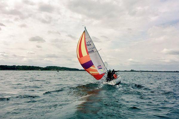 Les championnats de France de croiseurs légers se déroulent du 9 au 12 mai sur le Lac du Der.