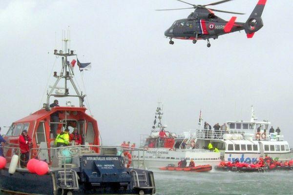 La SNSM de La Rochelle effectue une cinquantaine de sorties chaque année.