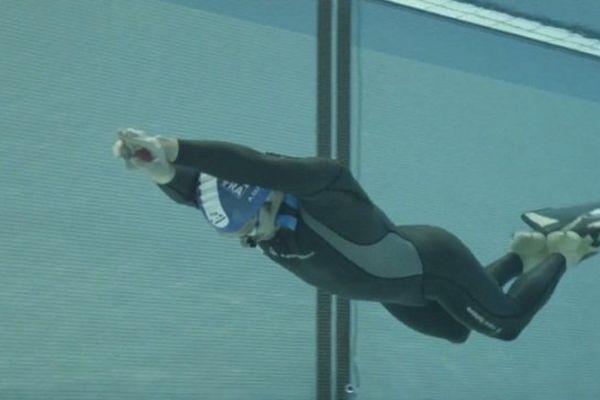 Alexis Duvivier améliore de 6 mètres le précédent record de cette discipline détenu par le Croate Goran Colak.