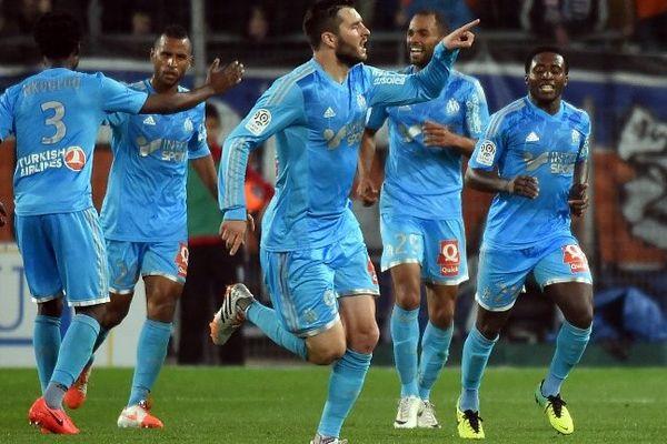Les Olympiens peuvent accrocher l'Europa League. (ici contre Montpellier le 11 avril).