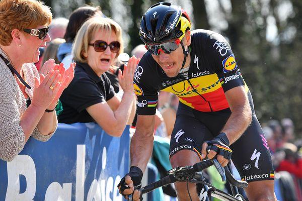 Le champion de Belgique est en forme à l'approche du Tour des Flandres.