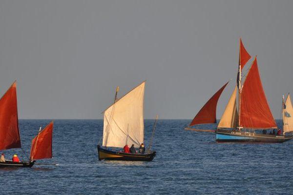 Les vieux gréements, les Vaquelottes du Cotentin
