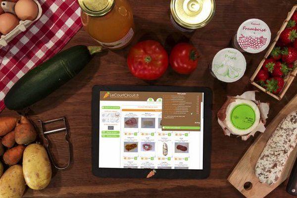 Lecourtcircuit.fr permet de faire ses courses de produits fermiers régionaux en ligne