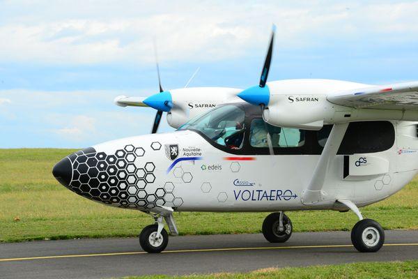 Le Cassio 1, avion hybride conçu par Voltaero.