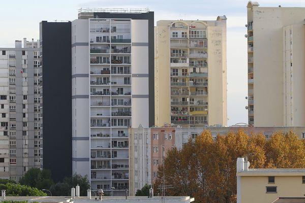Logemements sociaux à Nice, quartier des Moulins (Archives)