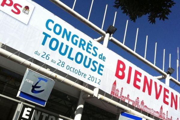 Le congrès du PS se tient au Parc des Expos de Toulouse