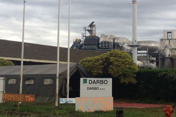 L'usine Darbo à Linxe dans les Landes