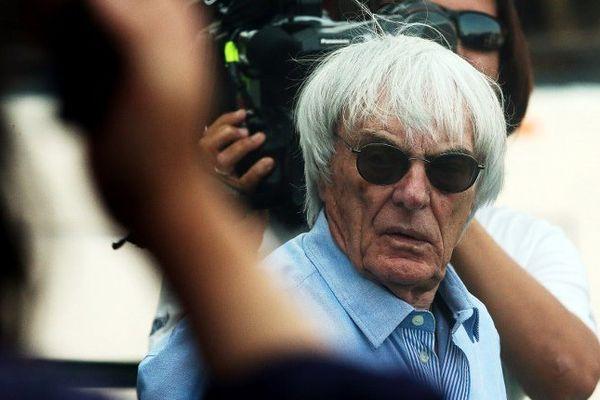 Bernie Ecclestone, le promoteur de la F1 et gérant de Formula One Management.