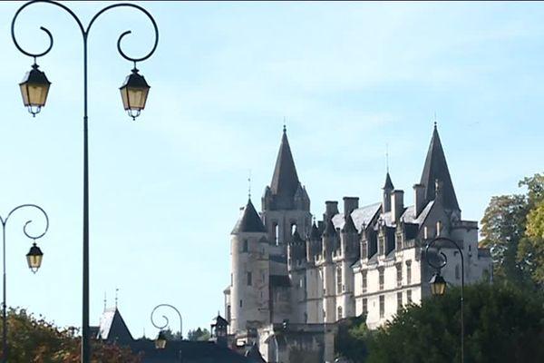 Ville de Loches (Indre-et-Loire)