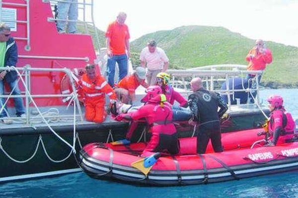 C'est un bateau semi-rigide de ce type qui a été volé dans le port de Saint-Florent (Archives - 2011)