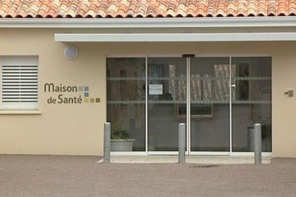 La nouvelle maison de santé à Confolens
