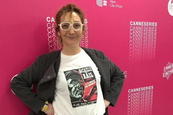 Le Capitaine Marleau alias Corinne Masiero, est à Canneseries.