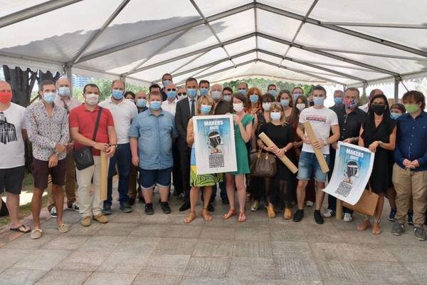 Jeudi 16 juillet, les bénévoles du réseau Makers Uniti ont été mis à l'honneur par la collectivité de Corse.