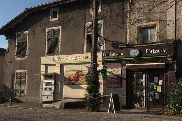 """La boulangerie """"Maison Boulanger"""" à Colombey-les-Belles (Meurthe-et-Moselle)."""