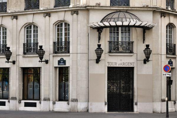 """Le restaurant """"La Tour d'argent"""", à Paris."""