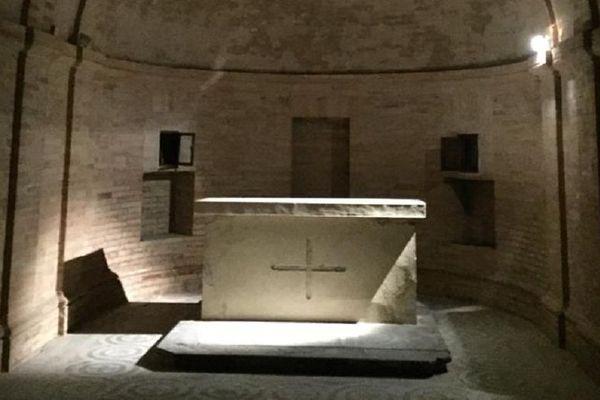 La crypte de Saint-Aubin va être désacralisée pour accueillir un espace dédié à la création.