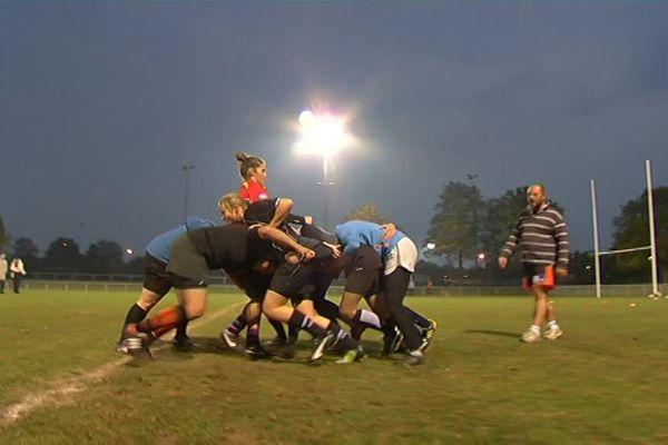 Rugby Feminin Les Tigresses Du Stade De Reims