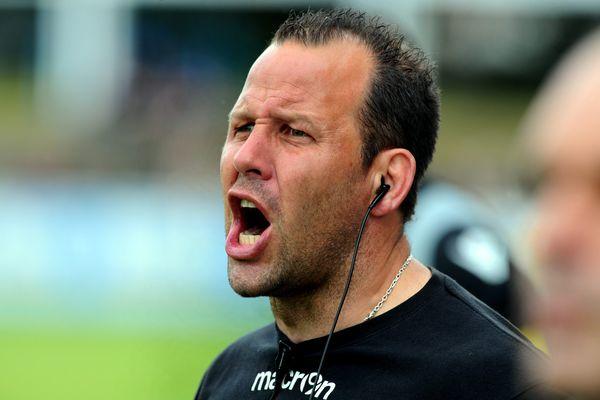 David Aucagne, nouvel entraîneur de Béziers - avril 2015