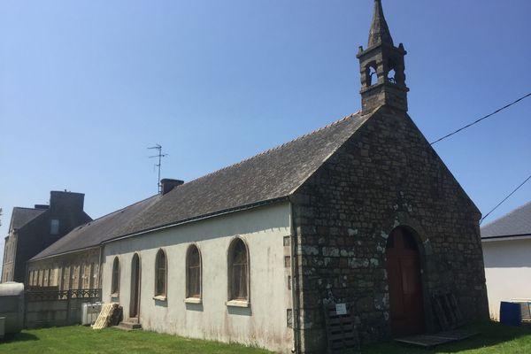 L'ancienne chapelle de Koh Coët est à vendre sur la commune de Guénin