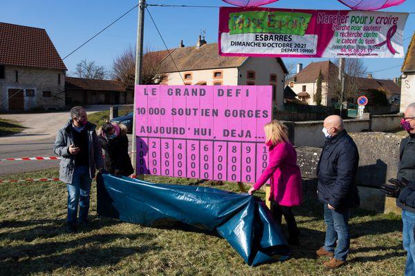L'association a lancé un compteur dès le 14 février. Déjà 1.400 soutiens-gorge ont été donnés