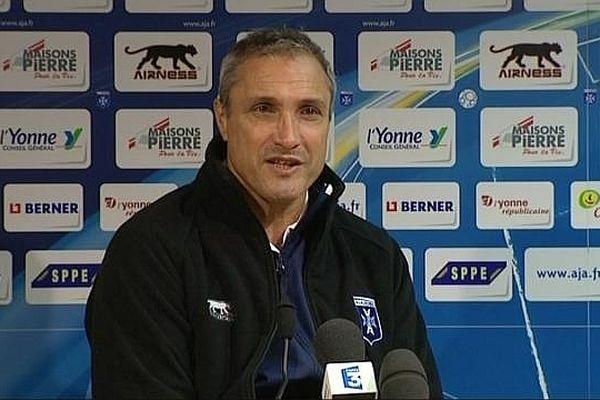L'entraîneur d'Auxerre, Bernard Casoni espère que son équipe ne va pas s'arrêter là...