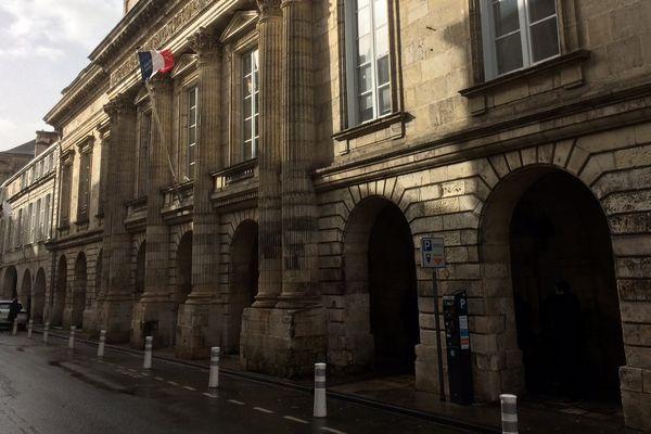 Le palais de justice de la Rochelle