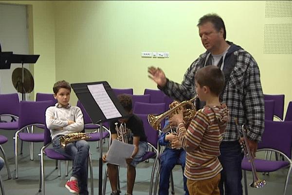 Masterclass à St Junien avec Franck Pulcini.