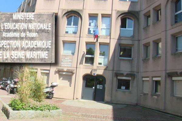 Rouen : le siège de l'inspection académique d'où vient la sanction infligée à la directrice d'école havraise