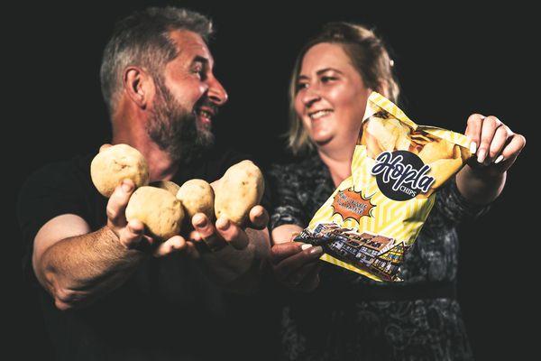 La première marque de chips alsacienne vient d'être lancée.
