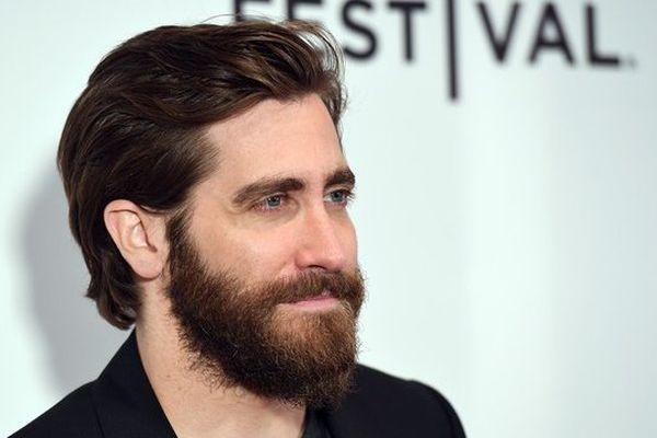 """L'acteur américain Jake Gyllenhaal, apparaît dans le film """"Okja"""" en compétition officielle à Cannes."""