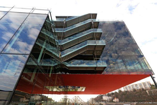 Le siège du géant de l'évènementiel GL Events, quartier de la Confluence à Lyon. Image d'archives.