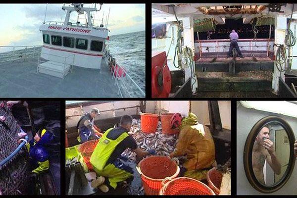 Cette semaine, découvrez le quotidien des pêcheurs du chalutier cherbourgeois Le Marie-Catherine