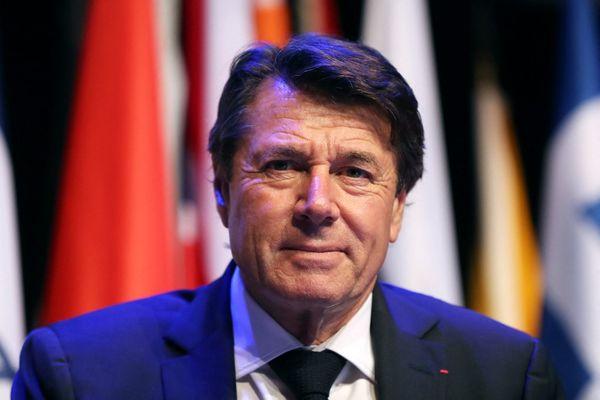 ILLUSTRATION - Christian Estrosi, maire de Nice.