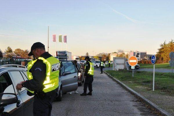 Opération anti-délinquance dans le Loir-et-Cher mercredi 20 novembre 2019 - © préfecture du Loir-et-Cher