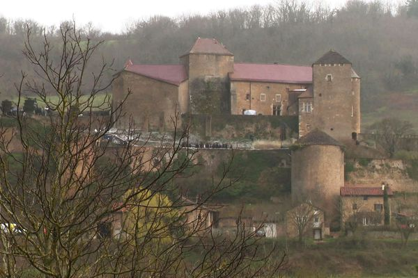 """Le château de Berzé accueille le tournage du film """"Le dernier duel"""" de Ridley Scott"""