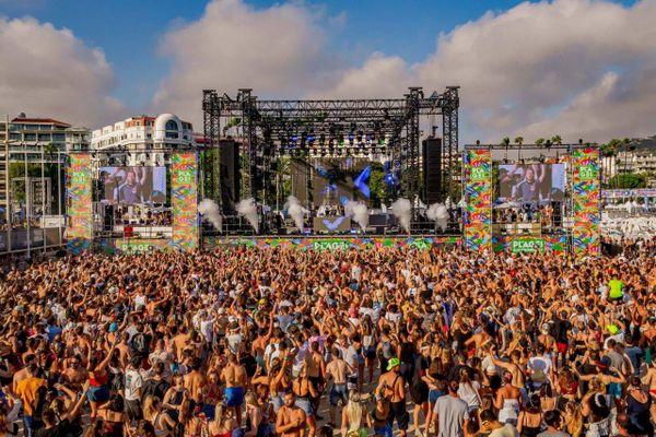 La scène du festival Plages Electro