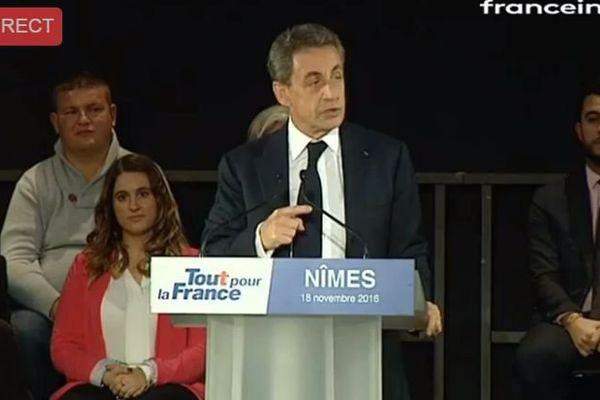 Nicolas Sarkozy En Meeting A Nimes Le Retour De L Autorite